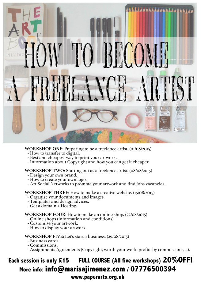 WORKSHOP FOR FREELANCE ARTISTS
