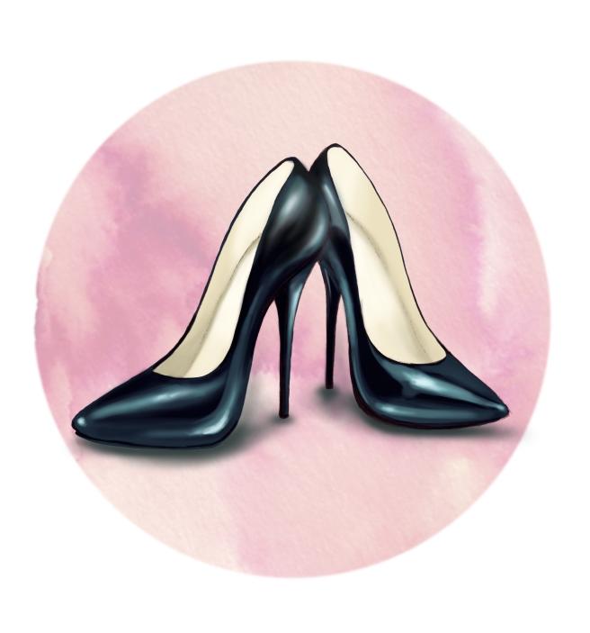 Beth Shak heels black